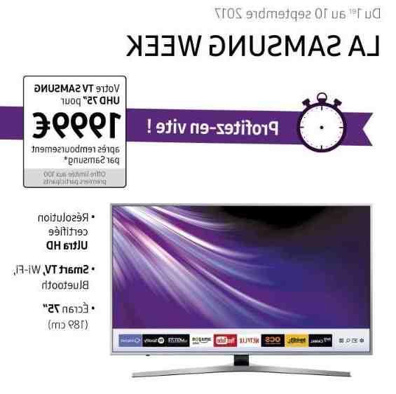 Comment caster sur Samsung Smart TV ?