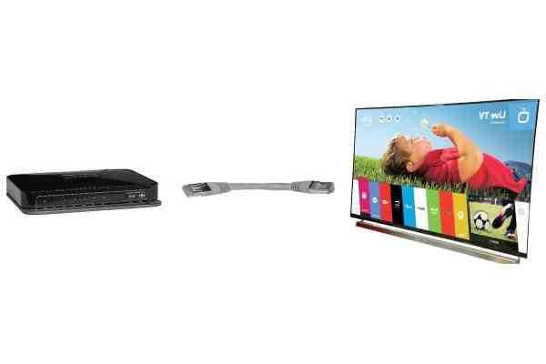 Comment connecter ma TV à Internet sans fil ?